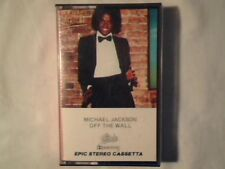 MICHAEL JACKSON Off the wall mc cassette k7 ITALY COME NUOVA LIKE NEW