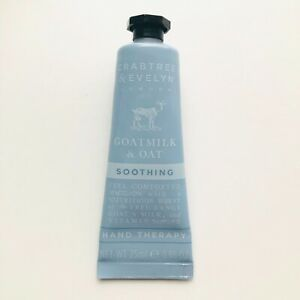 Crabtree Evelyn Goatmilk Hand Therapy Oat Soothing 0.86oz Sealed New Travel Size