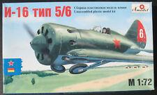 Amodel 7207 - Polikarpov I-16 - 1:72 - Flugzeug Modellbausatz - Model Kit