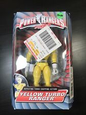 "Power Rangers Turbo 8"" Yellow TURBO RANGER New Factory Sealed 1997"