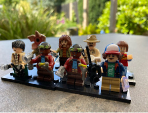 8Pcs Minifigures lego MOC Stranger Things - Demogorgon Dustin Henderson Mike Toy