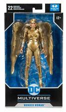 McFarlane Toys Dc Multiverse Wonder Woman 1984 Golden Armor In Hand! Case Fresh