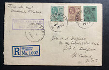 1930 Montserrat Island First Flight Airmail Cover FFC To St Vincent