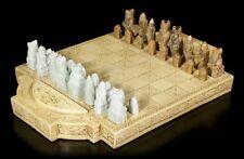 Wikinger Schachspiel - Isle of Lewis - Fantasy Brettspiel Schachbrett Figuren