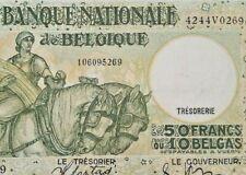 50 FRANCS 1938 <<==>> 1945  Belgique / Belgïe 50 FRANK / BELGIUM - P106  #F3#