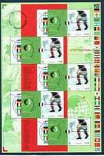 FRANCE Sc 2891C NH MINISHEET OF 2002 - SOCCER WORLD CUP