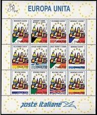 Italia  Foglietto Europa Unita