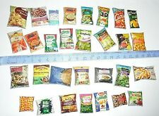 lot 30 Aliments Miniatures factices Maison Poupée Vitrine Doll House Food Barbie