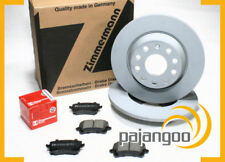VW EOS 1F - Zimmermann Bremsscheiben Bremsklötze für vorne die Vorderachse*