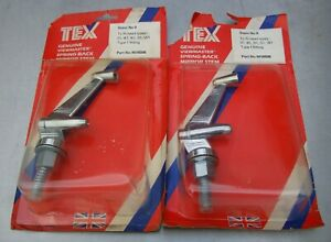 PAIR OF TEX No.M16006 SPRING BACK WING MIRROR STEMS IN UNUSED CONDITION ~ 1970's