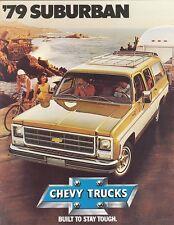 1979 Chevrolet Suburban Sales Brochure C10/C20/K10/K20