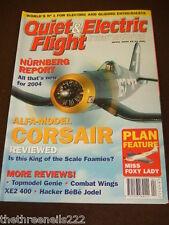 QUIET & ELECTRIC FLIGHT INTERNATIONAL - CORSAIR - APRIL 2004
