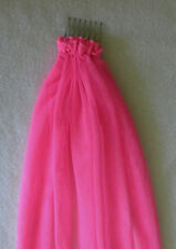 Hens Night Bachelorette Party VEIL HOT PINK mesh approx 50 cm long
