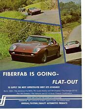 1968 FIBERFAB KIT CAR  ~  GREAT ORIGINAL AD