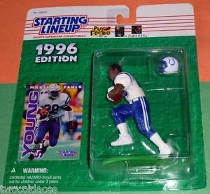 1996 MARSHALL FAULK Indianapolis Colts NM/MINT *FREE_s/h* Starting Lineup NFL