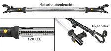 Motorhauben Leuchte Stablampe 120 LED Arbeitslampe Hängeleuchte Werkstattleuchte