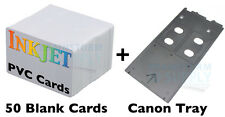 Inkjet PVC ID Card Starter Kit - Canon MG6120, MG8120, ip4920, ip4820 and Others