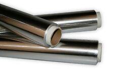 Aluminiumfolie 2er Set 31,5cm x 50m, Dicke 20my 0,02mm Industriefolie Alu Folie