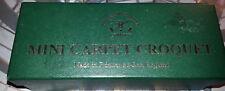 """Teppich mini Croquet carpet """"made in England"""" Townsend Croquet Ltd OVP Krocket"""