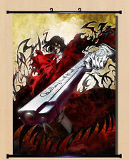 Home Decor Japanese Anime Wall poster Scroll Hellsing Alucard Cosplay Art 19