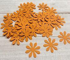 Orange Flower Confetti Party Decor Wedding Shower Birthday Favor