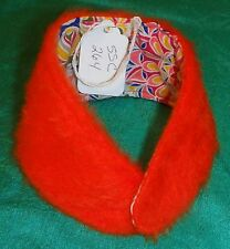"Thin Orange FauxFur Stole & Bright   18"" Supersize Barbie, Tiffany Taylor SSC264"