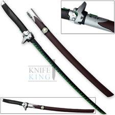 Overwatch Genji Sword Steel Katana Chrome Skin OW Metal Game Cosplay Replica 1:1