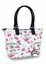Six Bunnies Flamingo Tropical Nappy Bag or Tote Handbag Unique Retro Rockabilly