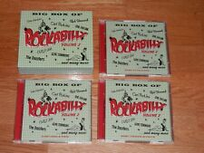ROCKABILLY volume 2 big box of coffret 6 cd