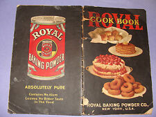 1927 Royal Baking Powder Co Cook Book desserts bread cookies etc