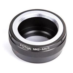 FOTGA Adapter For M42 Lens to M4/3 Camera Panasonic GH5s GF9 Olympus E-M10III