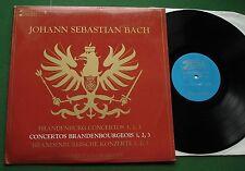 Bach Brandenburg Concertos 1 2 3 Berliner Bach Orchestra BRL5 LP