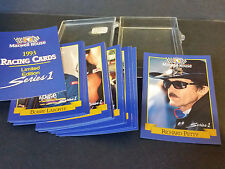 1993 Pro Set Racing - Maxwell House Series 1 - 15 Card Complete Set RARE