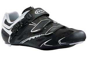 Northwave Sonic SRS Road Cycling Shoes Black/White EU37 New Boxed RRP £99.99