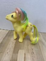 ❤️ Vintage My Little Pony G1 Rainbow Ponies Trickles Copyrights 1984 Collectible