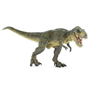 PAPO Dinosaurs T-Rex, Green Running Figure NEW