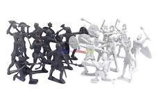 New Medieval Castle Roman Soldier Figures (20pcs) Plastic Army Men Toy Soldiers
