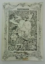 ultra rare vintage Ron Ackers tattoo 78 poster flash NOT MACHINE collectors item