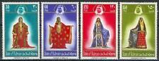 Bahrain 1975 ** Mi.222/25 Trachten aus Seide Costumes