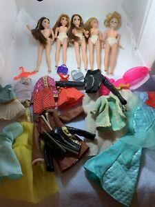Vintage Topper Dawn Dolls & Clothing Lot
