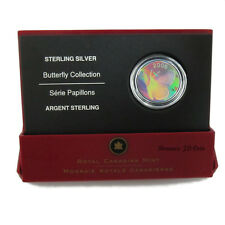 2006 Butterfly Collection - 50 Cent Silvery Blue - Sterling Silver - RCM
