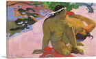 ARTCANVAS Are You Jealous 1892 Canvas Art Print by Paul Gauguin