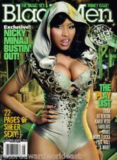 Black Men Magazine August 2010 Nicky Minaj Bustin' Out, Music Sex & Money Issue