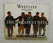 Westlife Unbreakable The Greatest Hits Vol.1 Taiwan CD w/BOX
