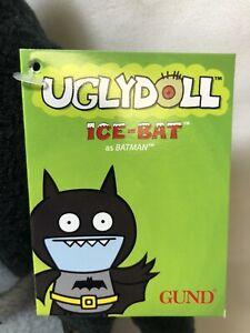 Icebat Black Batman Uglydoll DC Comics NEW with Tags 4037971