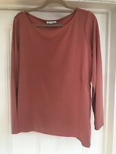 Marks & Spencer Classic Pink Top Asymmetrical Size 20 Brand New With Tags A77