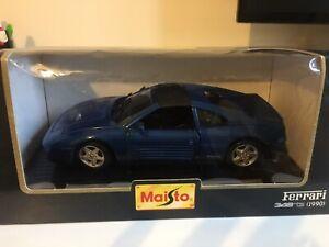 B/N/I/B MAISTO FERRARI 348 TS(1990) DIECAST CAR IN A SCALE 1;24 OPENING DOORS