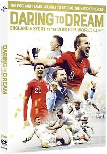 Daring To Dream - England's Story At The 2018 FIFA World Cup (DVD)