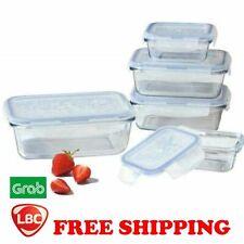Glass food storage locknlock lock & lock container NOT pyrex corelle kitchenaid