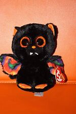 "Ty Beanie Boos Scarem the Bat  6"" Retired 2014 MWMT"